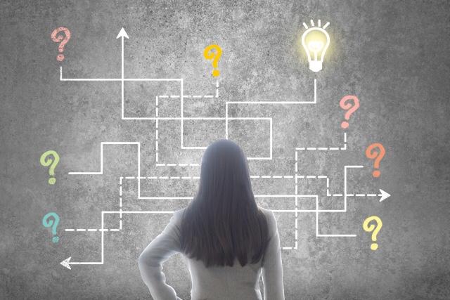 思考して思考して、人生の目的に進んでいくことで「流されない」正のループを作る。「流される」習慣は負のループに巻き取られる。